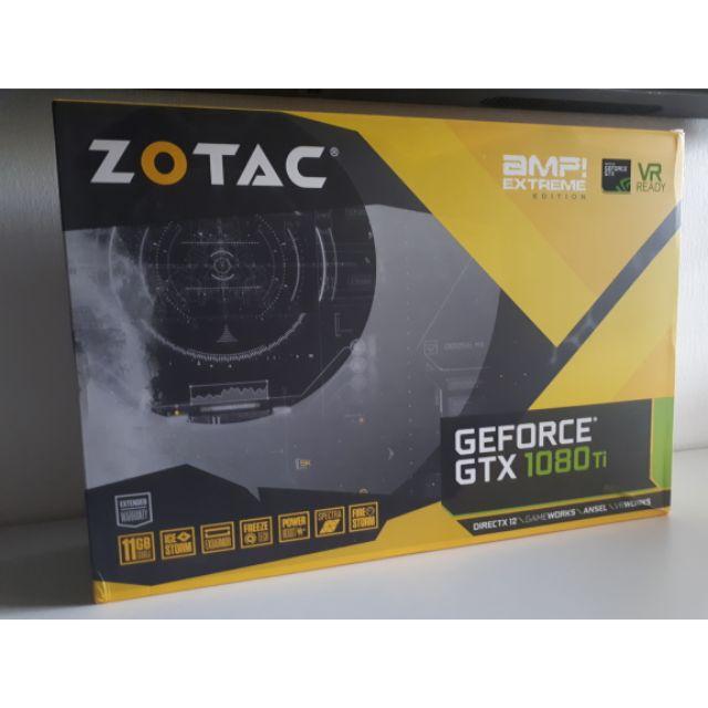 Zotac GTX 1080ti Amp Extreme