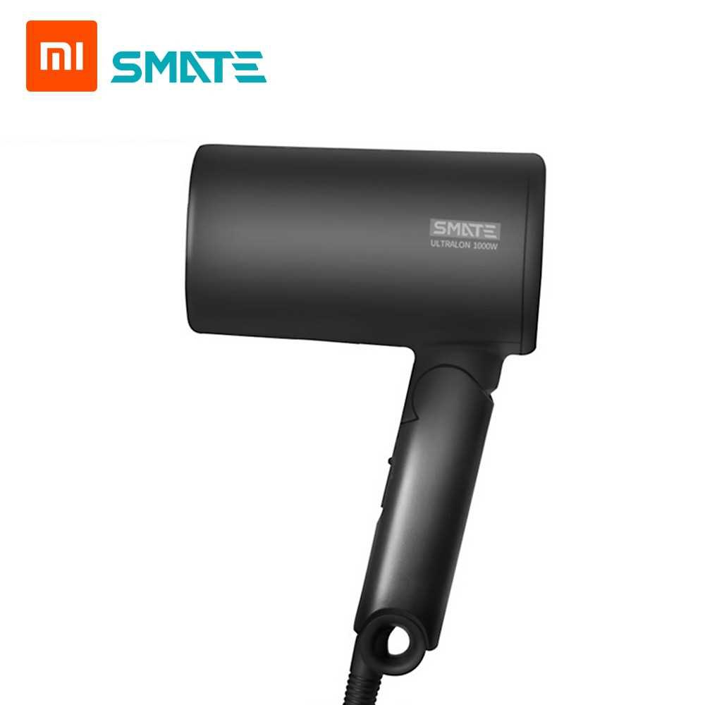 Xiaomi Mijia SMATE Anion Hair Dryer Mini Negative Ion Hair Care Quick Dry Portable Travel Foldable Hairdryer Diffuser 1