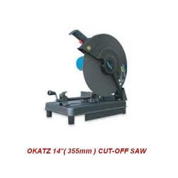 """OKATZ CF2300 2300W 355MM 14"""" METAL CHOP SAW CUT OFF MACHINE MITRE MITER SAW"""