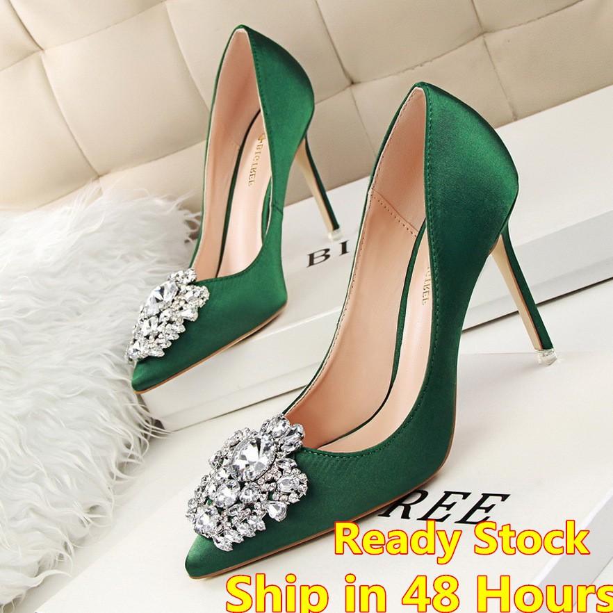 9d62b1f8406e Women High Heels Shoes casual Party Shoes Kasut Tumit Tinggi Wanita kasut  khawin