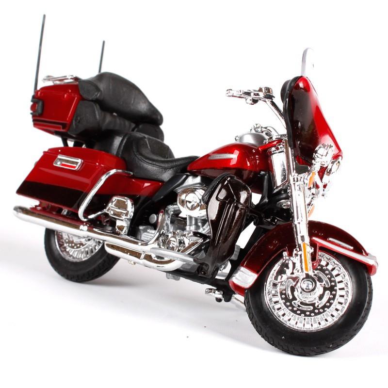 1:12 Maisto Harley Davidson 2013 FLHTK Electra Glide Motorcycle Model Toy Red
