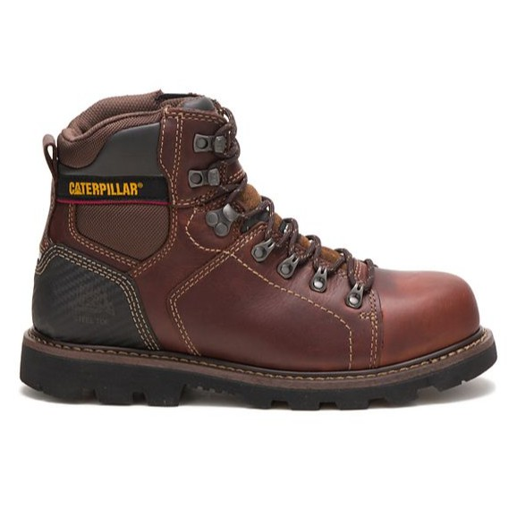bf3165f62f5 Caterpillar Men's Alaska 2.0 Steel Toe Work Boot Brown P90865