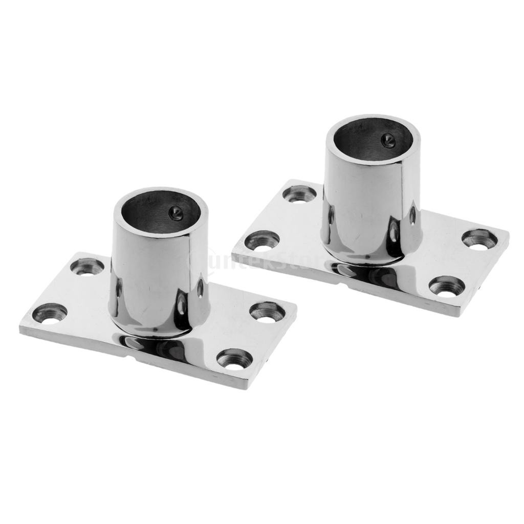 Boat Parts & Accessories Marine Hardware 1pcs 316 Stainless Steel Folding Swivel Connector Boat Rail Tube Pipe Fittings For Marine Yacht New Professional Marine Hardware