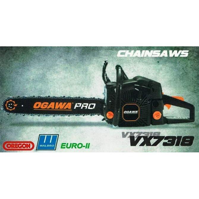 OGAWA PRO VX7318 PETROL GASOLINE ENGINE CHAIN SAW WOOD CUTTER