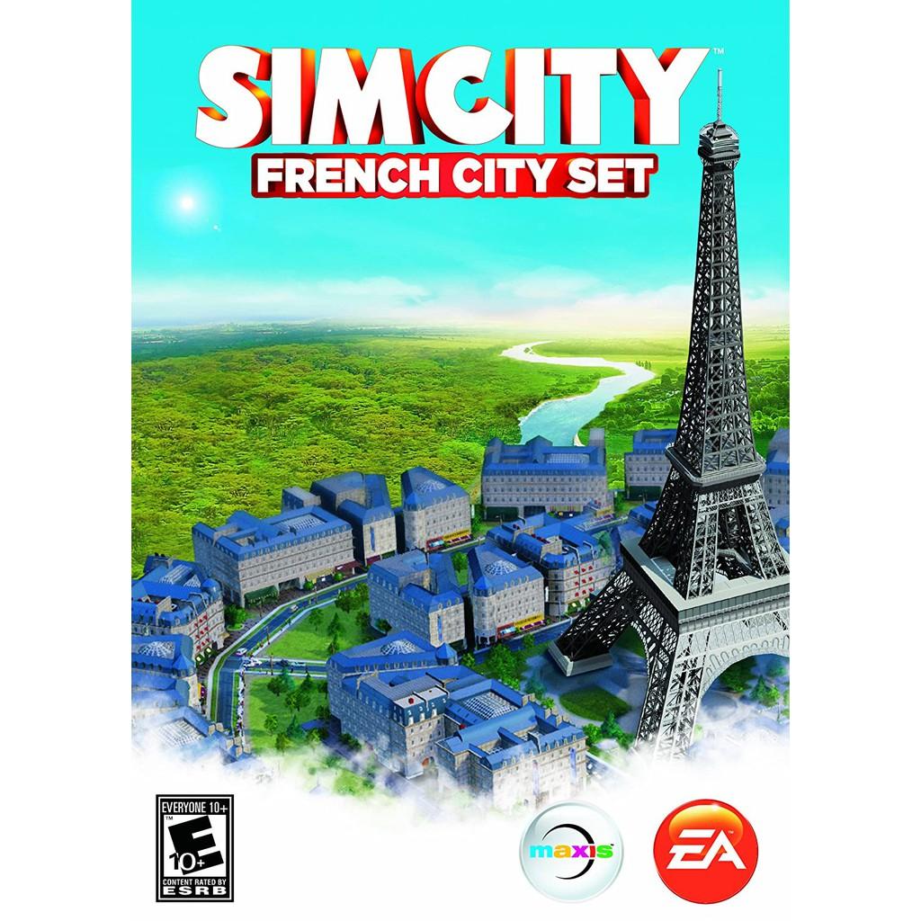 SimCity French City Set