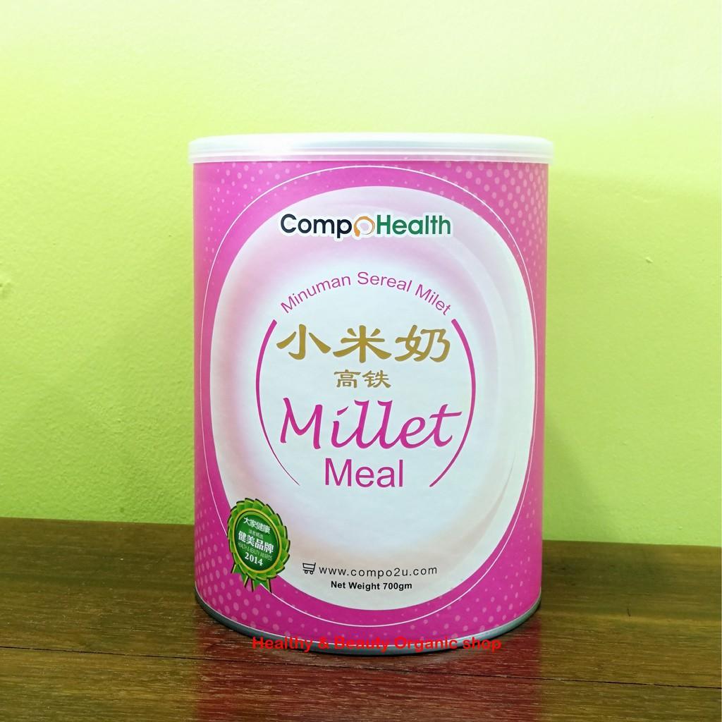 HALAL-CompoHealth Organic Millet Milk Youth Energy 700g 有机小米奶 - 青春活力
