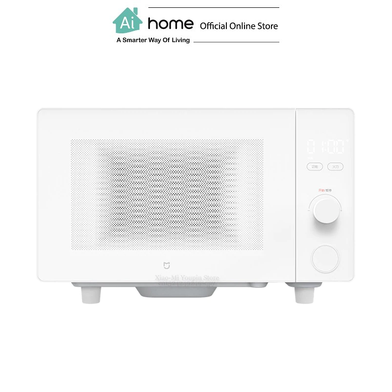 XIAOMI MIJIA Smart Electric Microwave Oven 20L (White) with Apps Control with 1 Year Malaysia Warranty [ Ai Home ]
