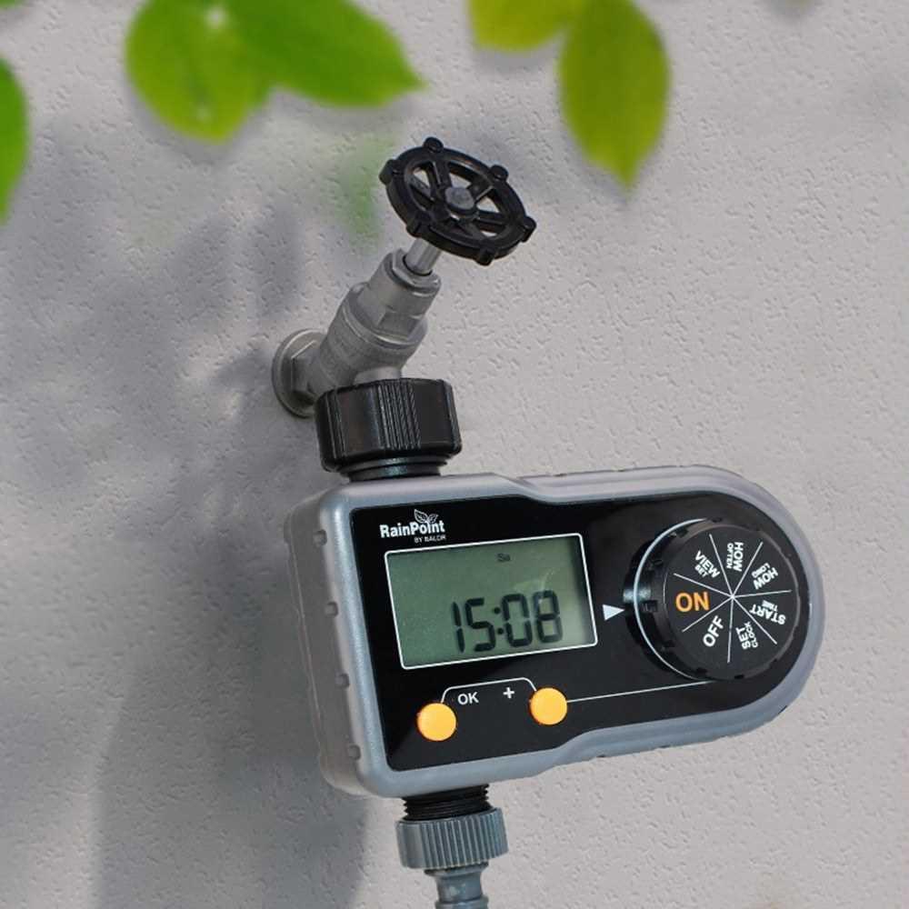 Programmable Hose Faucet Timer Water Timer Irrigation System Digital Hose Sprinkler Automatic Garden Watering Controler