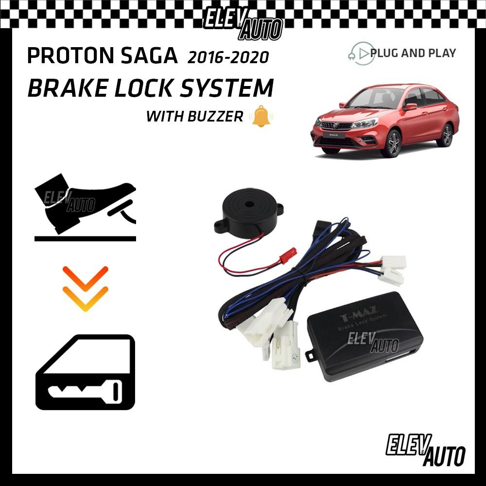 Proton Saga 2016-2021 Brake Lock System with Buzzer (Plug & Play)