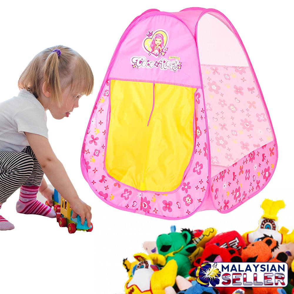low priced cdc1c fe10a Princess Coco Roxy Children Kids Foldable Toy Play Tent