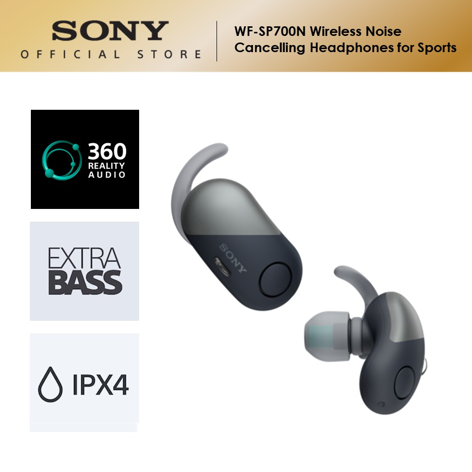 Sony WF-SP700N Wireless Noise Cancelling Headphones for Sports
