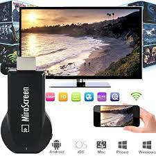 READY STOCK SHP] MiraScreen HDMI WiFi Full HD Smart Phones / Tablet PC  Notebook to another big screen devices with HDMI