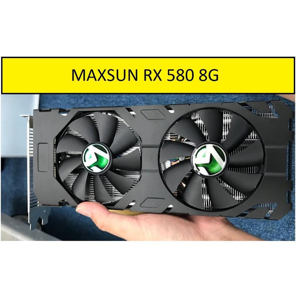 AMD Maxsun RX 580 8G Graphic Card / GPU