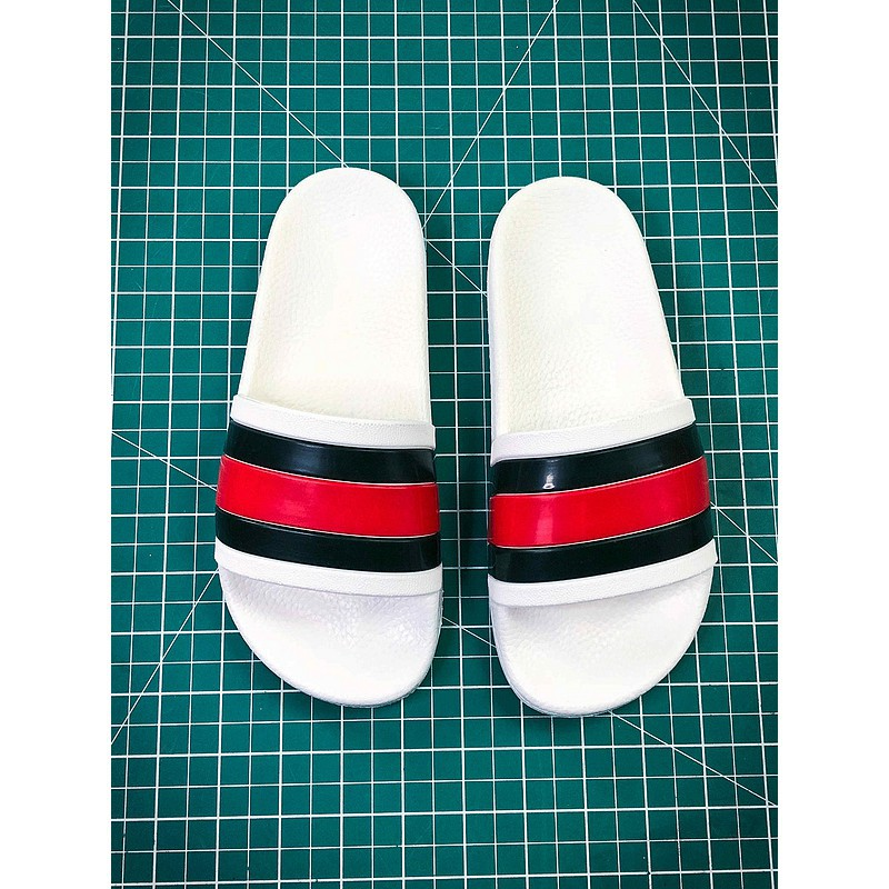 f3bb739f7 ProductImage. ProductImage. Gucci Leather Slide With Bow Sandals Ready  Stock Sports Slippers House Slippers