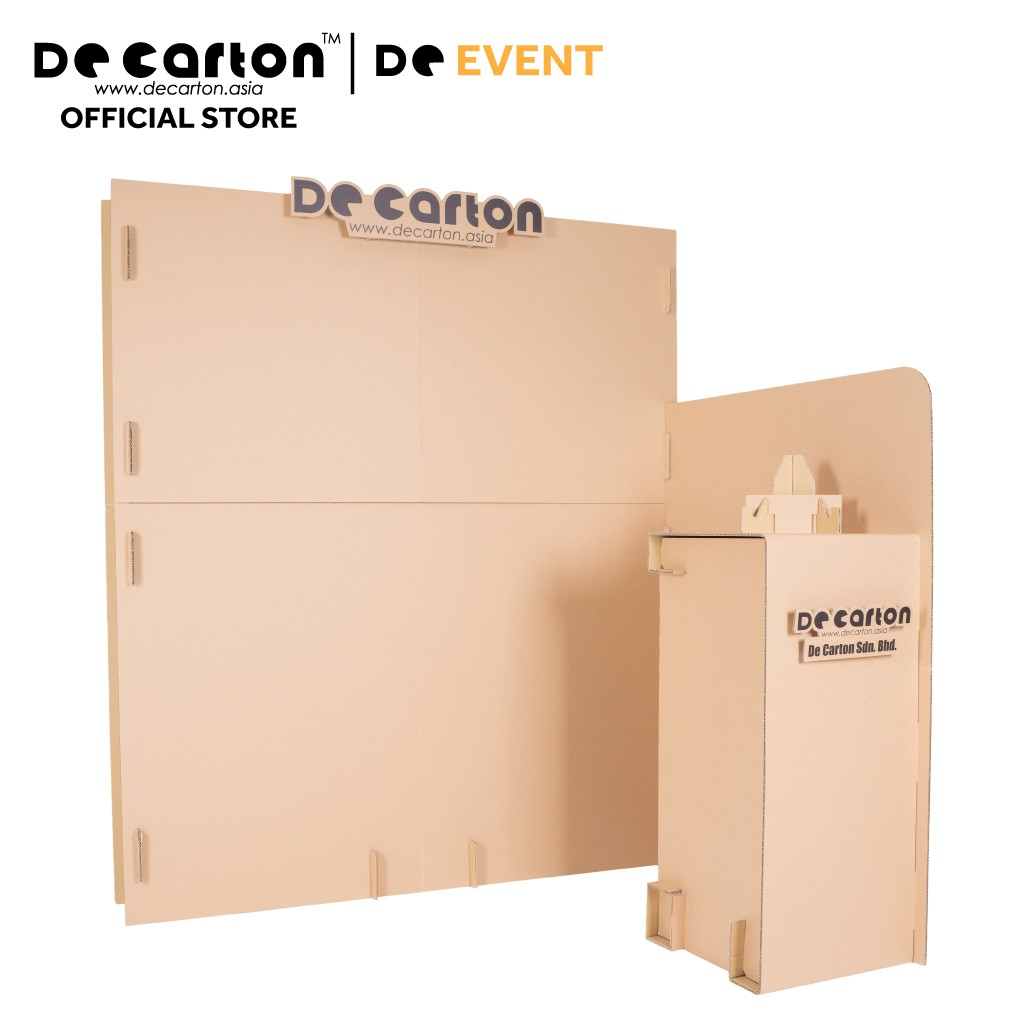 De Carton Cardboard Eco Event Booth