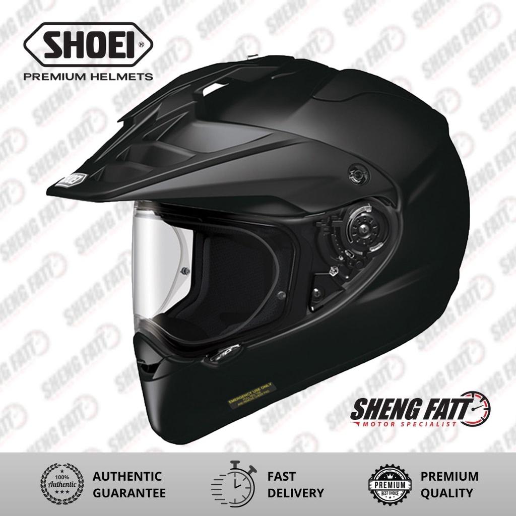SHOEI HORNET-ADV MATT BLACK Helmet for Motorcyclist Superbike