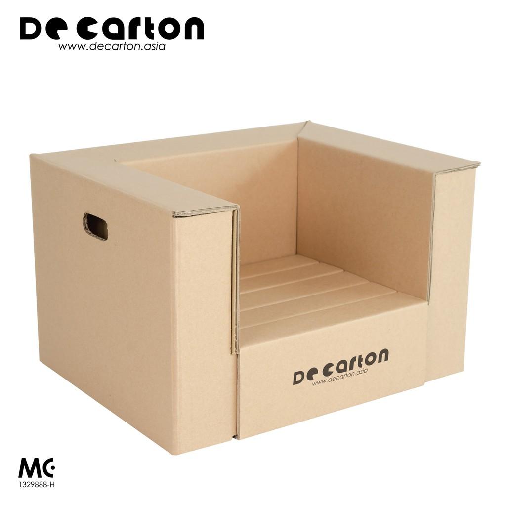 De Carton Cardboard Toddler Chair