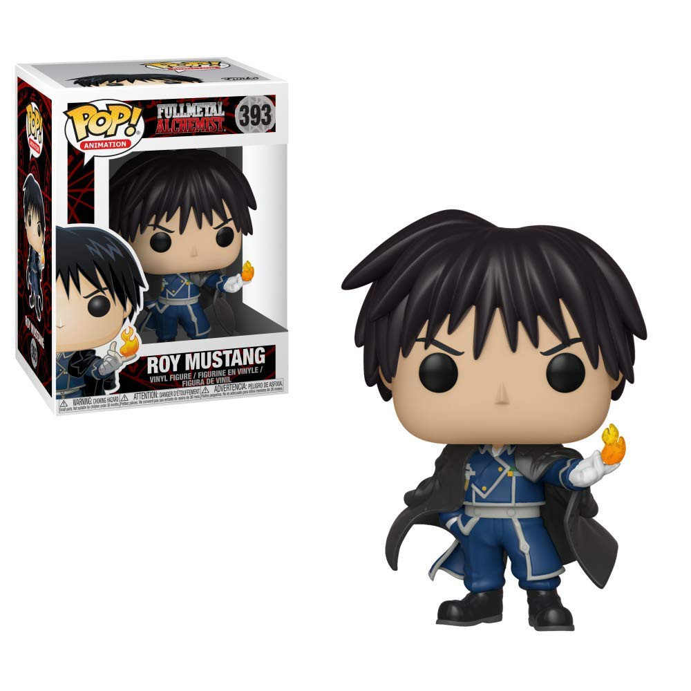 Fullmetal Alchemist Roy Mustang Colonel ARTFX J Version Action Figure Statue Toy