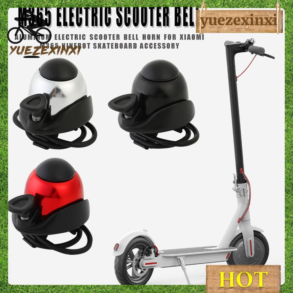 Aluminum Electric Scooter Bell Horn for M365 ES2 Ninebot Skateboard Accessories