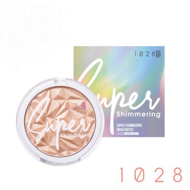 1028 1028 Super Shimmering Highlighter 8g 久耀闪闪打亮盘 银白金/炫光金