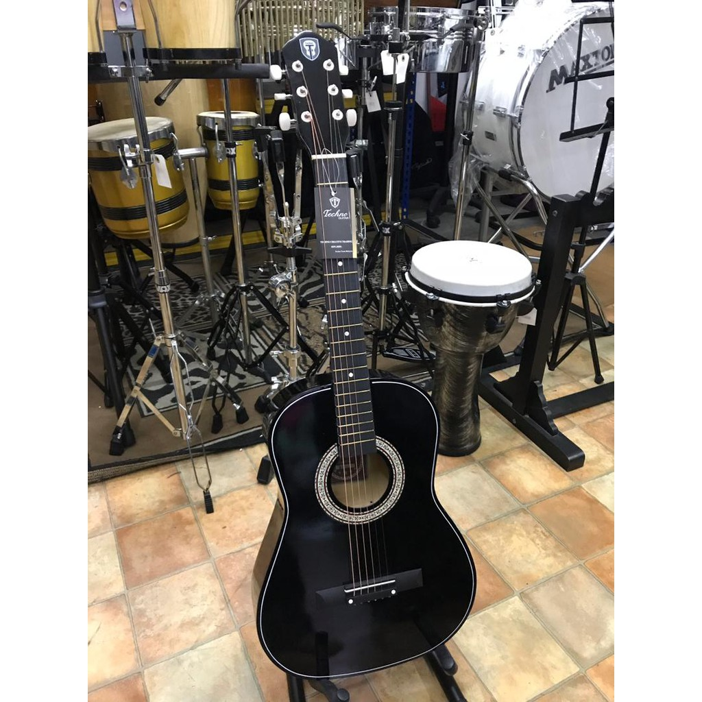 Blw 41 Inch Sd410 Dreadnaught Acoustic Guitar Package Shopee Malaysia Gitar String By Provit Musik Slm
