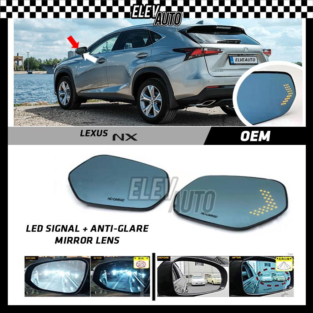 Lexus NX LED Signal with Anti Glare Side Mirror Lens