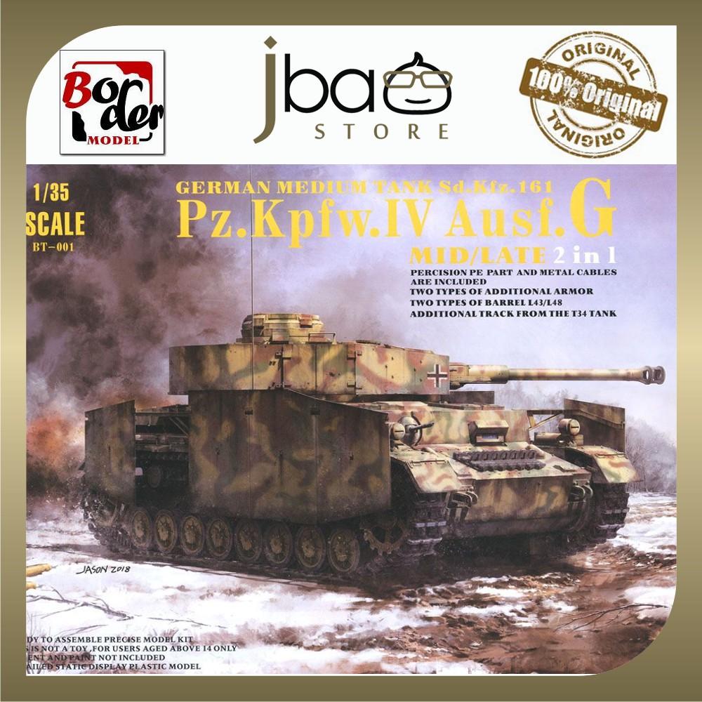 Border Model BT-001 1/35 German Medium Tank Sd.Kfz.161 Pz.kpfw.IV Ausf.G