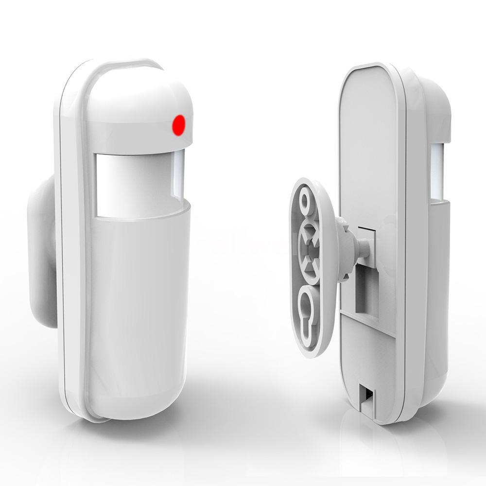 Wireless Mini PIR Infrared Passive Sensor Motion Detector Alarm ...