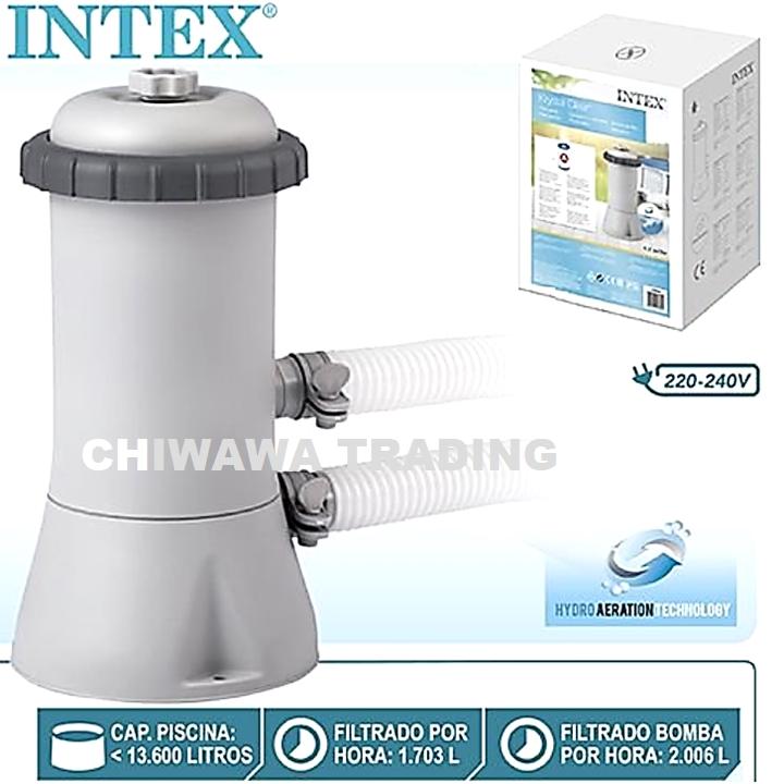 PROMOTION 28604  Intex Filter Pump Krystal Clear Water Swimming Pool Tapis Penapis Air Kolam Renang