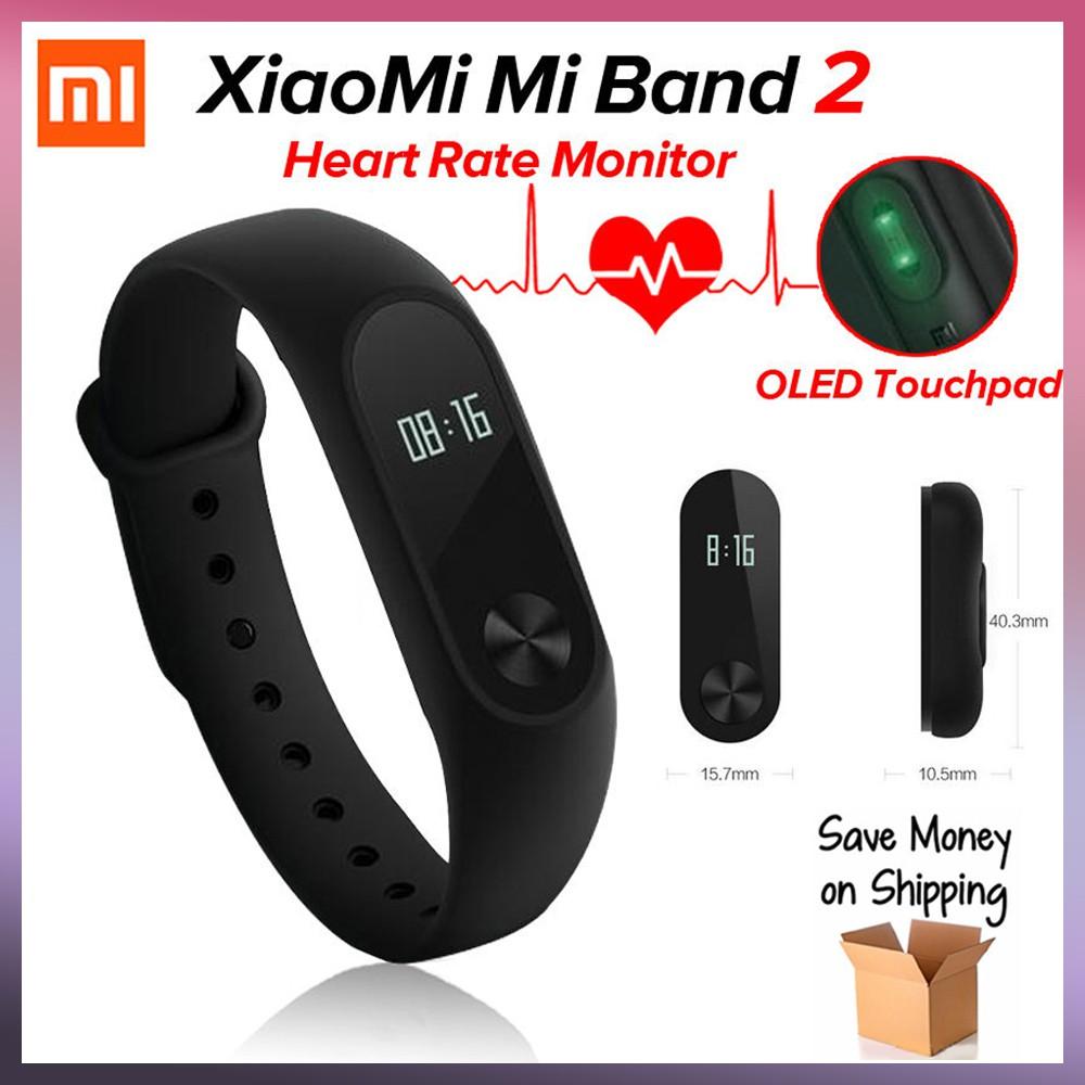 Original Xiaomi Mi Band 3 Smart Wristband Bracelet Fitness 2 Year Oled Strap Stainless Steel Mijobs Silver Plis Warranty A1 Shopee Malaysia