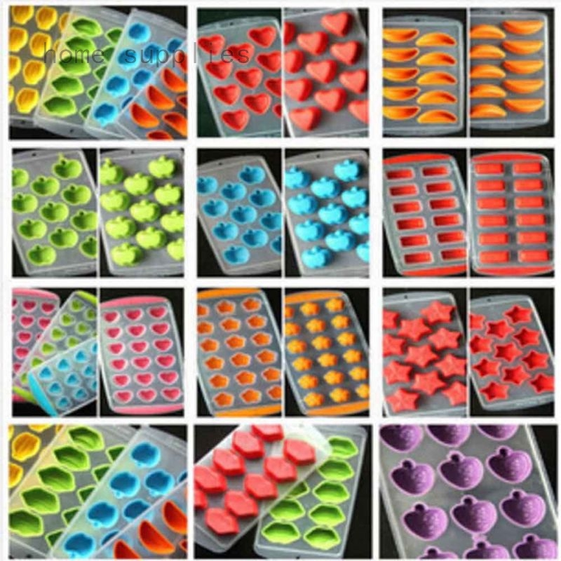 Silicone Rubber Ball Ice Cube Tray Freeze Bar Jelly Pudding Chocolate Mold GIFT