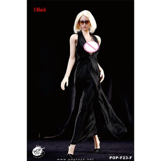 """1//6 Scale Evening Gown Long Dress High Heel Shoes for 12/"""" Female Action Figure"""