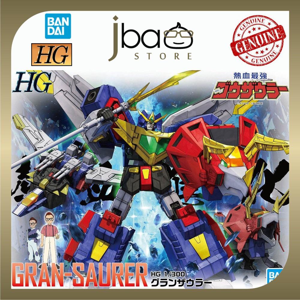 Bandai 1/300 Gran-saurer HG Nekketsu Saikyo Go-Saurer Plastic mode