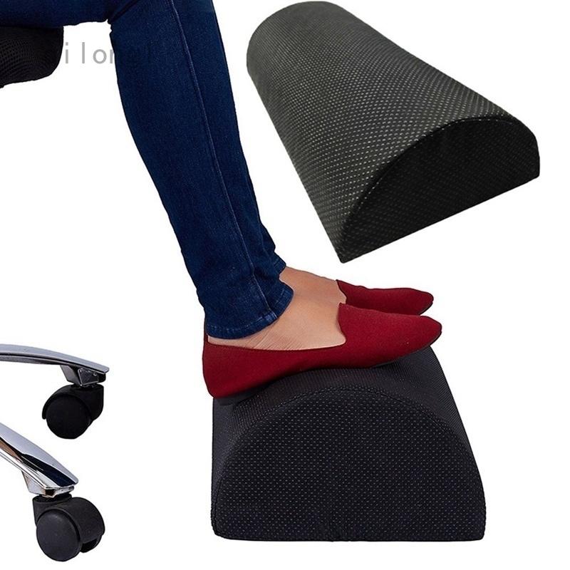 Comfort Foot Rest Pillow Cushion Under Office Desk Memory Foam Leg Pillow