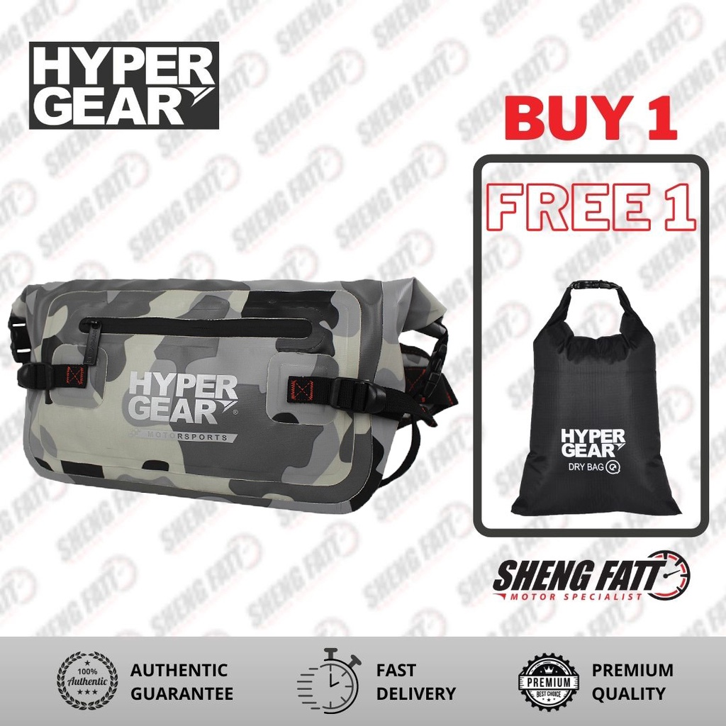 Hypergear Waist Pouch Large V2 C.Grey Alpha