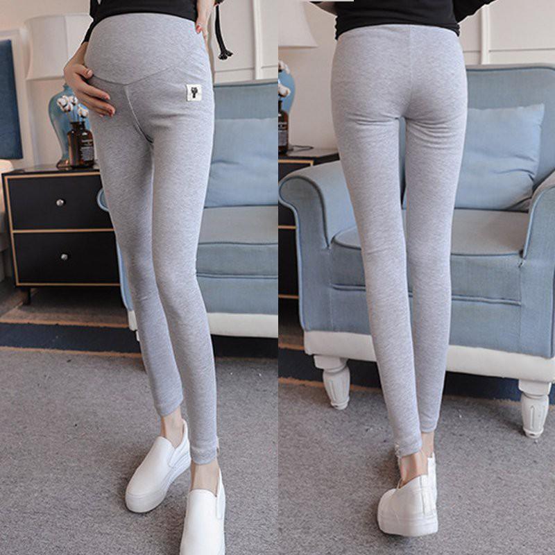 Celana Legging Panjang Model Elastis Skinny Motif Print Kucing Bunga Untuk Ibu Hamil New Shopee Malaysia
