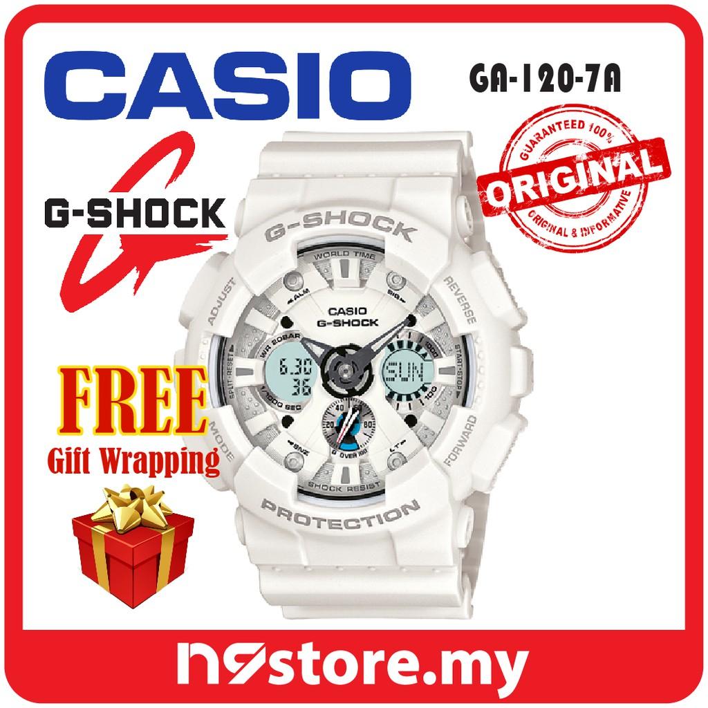 Casio G Shock Ga 120trm 7a Analog Digital Men Watch Sports Casual Jam Tangan 100a 9adr Original Shopee Malaysia