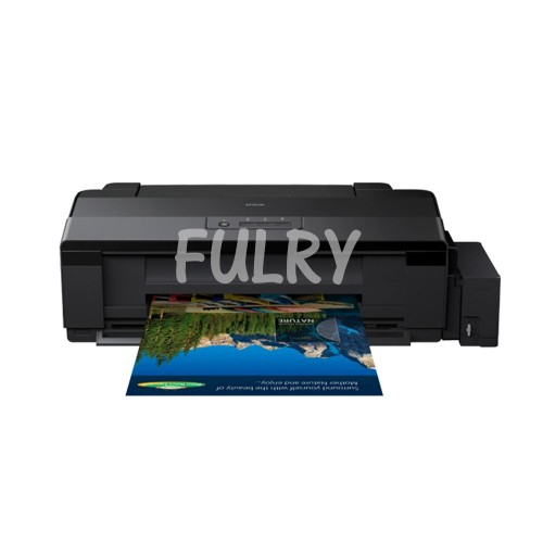 Epson L1800 Printer With Fulry Ink 6 Colors Tshirt / Sticker Printing  Sarawak