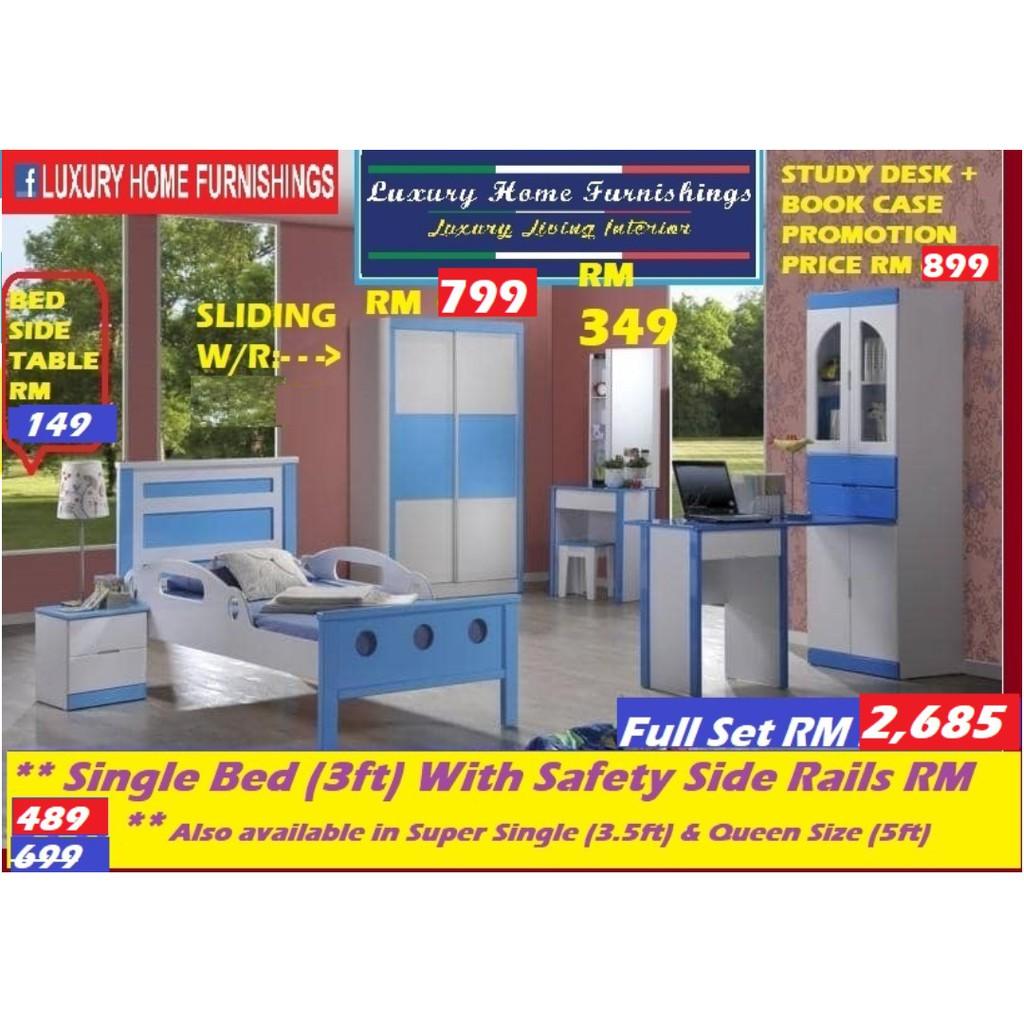 Children Bed Room Set, Export Series, FULL SET