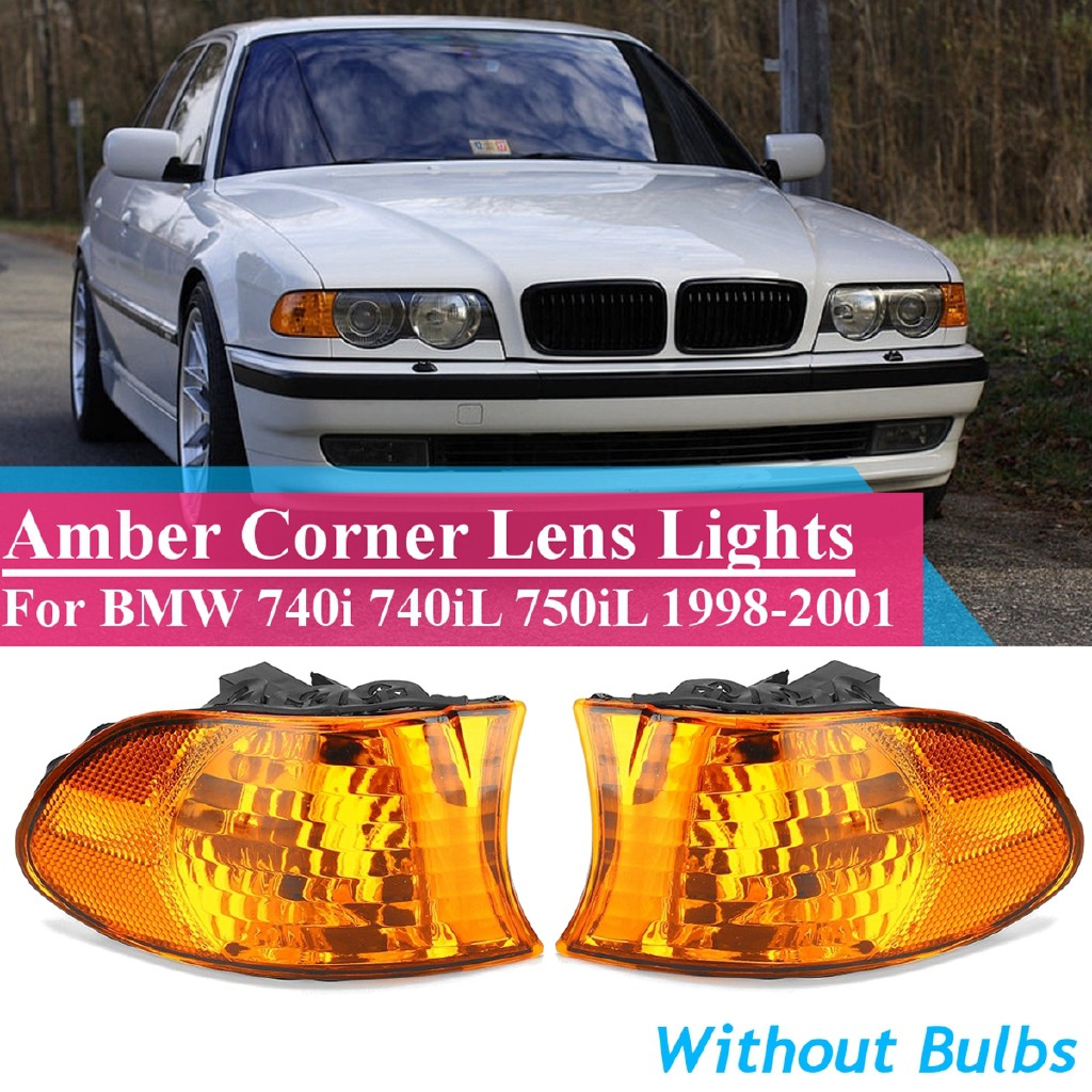 Right E38 63138379107 Genuine BMW Corner Lights Turn Signal Left