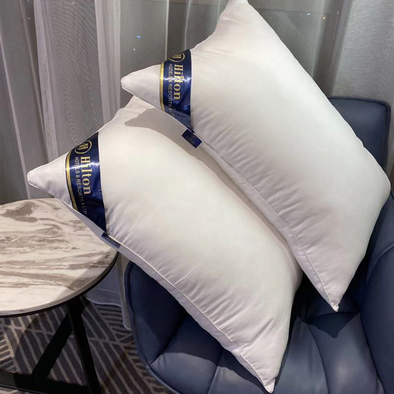 HILTON 750g polyester fiber classic pillow- 1 piece