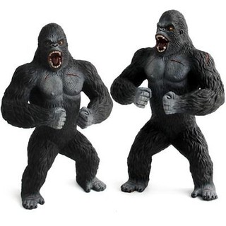 1pcs 19cm King Kong Skull Island Action Gorilla PVC Figure toy Collectible Decor