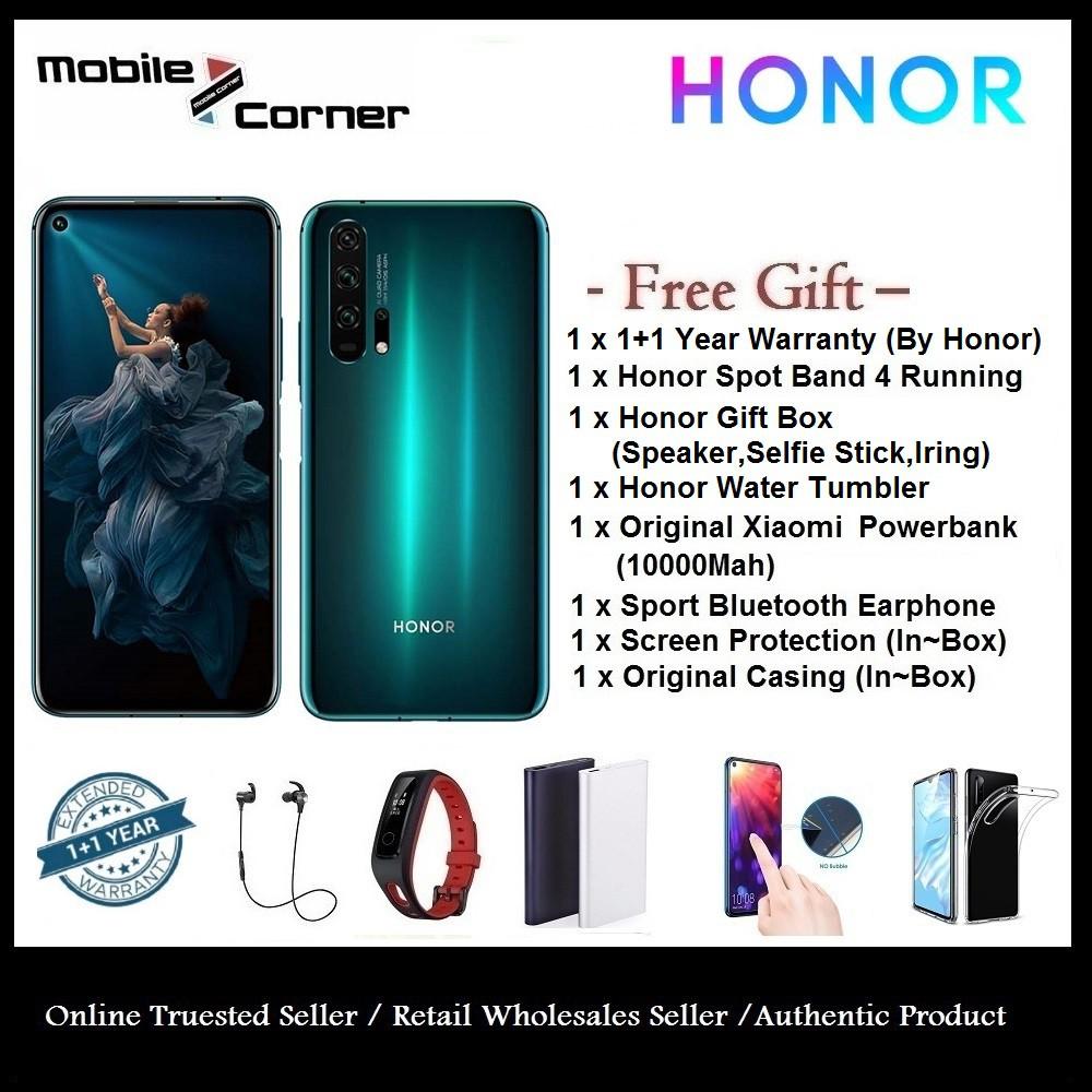 HONOR 20 PRO (8GB+256GB) - 2 Years Warranty by Honor Malaysia + FREEBIES!!!