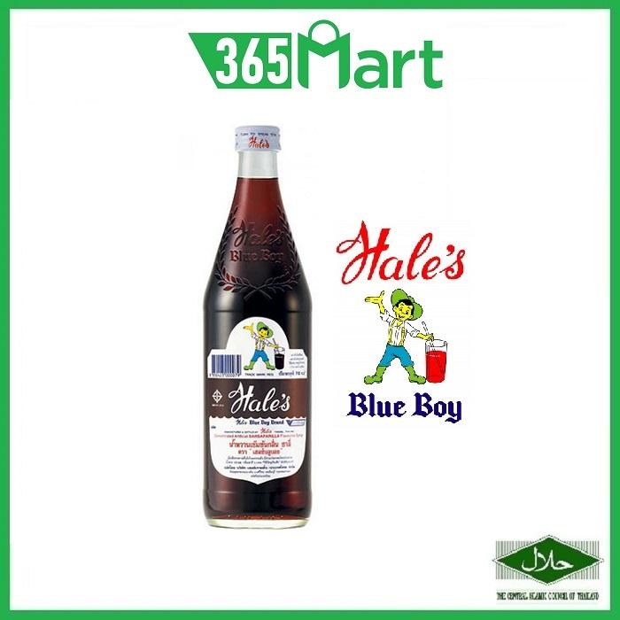 Hale's Blue Boy Thailand Syrup 710ml (Sarsaparilla / Sala / Cream Soda) HALAL Syrup Cordial by 365mart 365 mart
