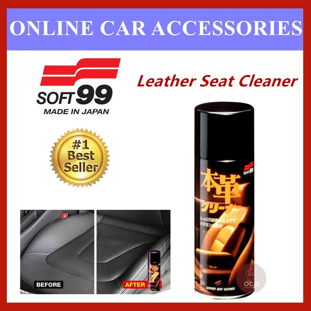 (Free Gift) Soft 99 Genuine Leather Seat Cleaner Spray Type - 300ml