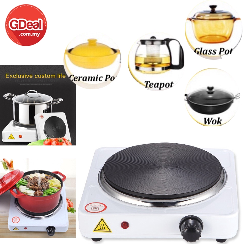 GDeal Portable 1000W Travel Electric Stove Cooker Hot Plate Cookware (DLD-101)