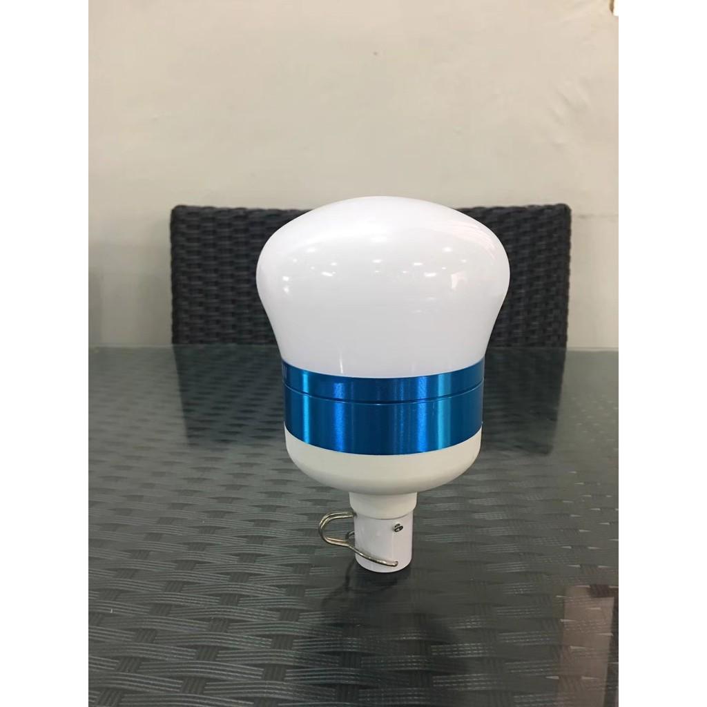 [ READY STOCK ]  Super Bright 60w Usb Rechargable Led Bulb Lampu Raya Pelita Jualan Murah Flash Power Bank Battery Pasar