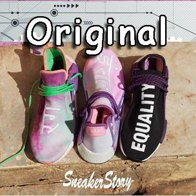 hot sale online 55eca 6d997 READY STOCK 100%original Adidas x Pharrell HU NMD sneakers running shoes√