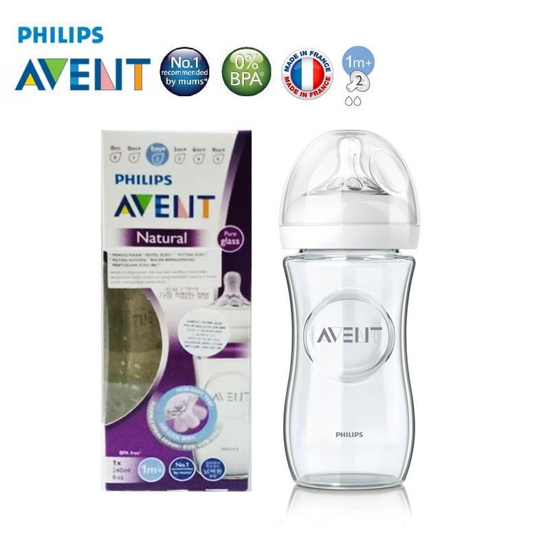 Philips AVENT SCF673//37/Translucent Glass Bottle White