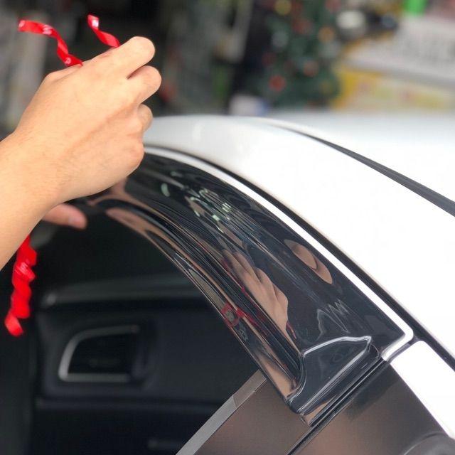 Perodua Bezza 2020 Door Visor Mugen Style Air Press